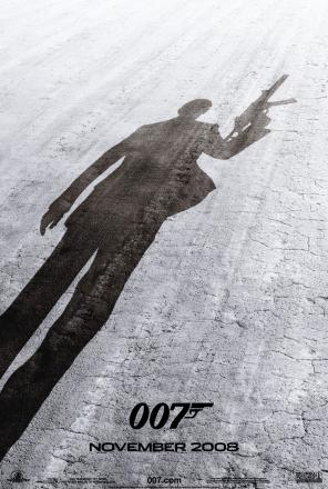 Quantum of Solace Teaser Poster