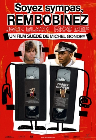 Be Kind Rewind French Poster